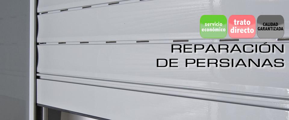 Reparación de persianas Valencia